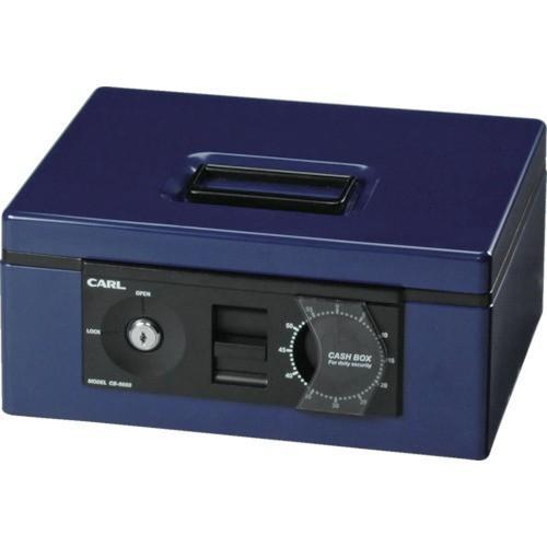 カール 手提げ金庫 キャッシュボックス CB−8660−B ブルー B5サイズ (1台) 品番:CB-8660-B カール 手提げ金庫 キャッシュボックス CB−8660−B ブルー B5サイズ (1台) 品番:CB-8660-B