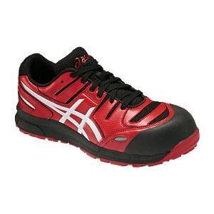 アシックス(ASICS)  安全靴(作業用靴)ウインジョブCP103 FCP103.2301 レッドXホワイト FCP103|kouguman
