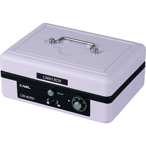 カール 手提げ金庫 キャッシュボックス CB−8250−P 全国どこでも送料無料 A6サイズ ピンク CB-8250-P 品質保証