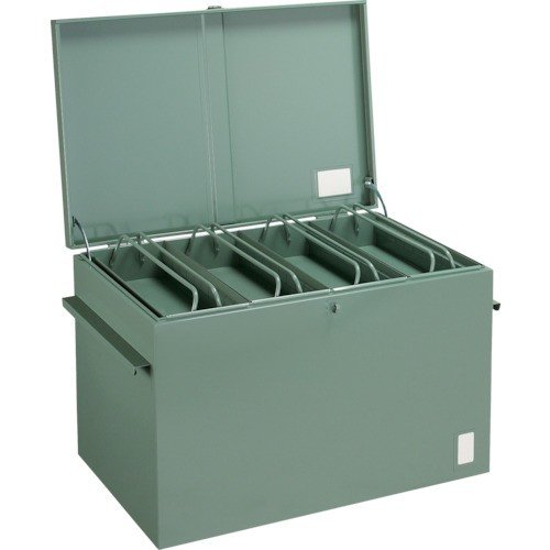 TRUSCO 大型車載用工具箱 中皿付 900X600X600 F-960·お取寄商品·代引不可·