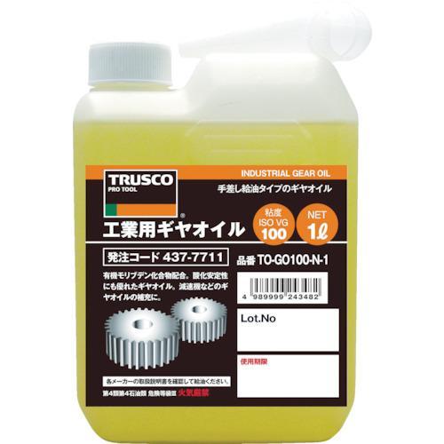 お値打ち価格で TRUSCO 工業用ギヤオイル VG220 TO-GO220N-1 1L 安売り