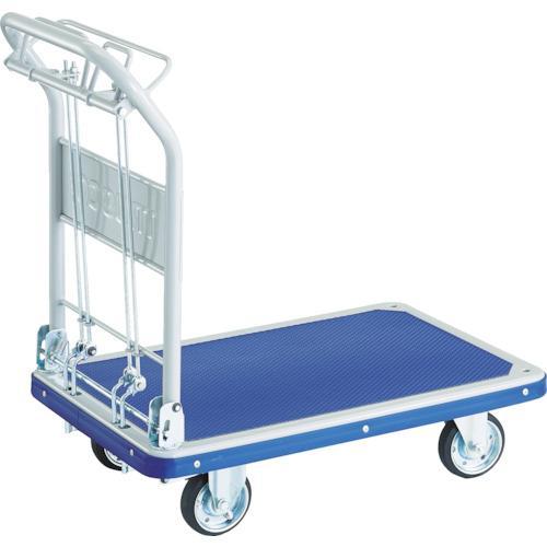 TRUSCO プレス製台車 ドンキーカート 折畳 915×615 ハンド式 ピン式2輪S付 制動B付 301NKHBS·お取寄商品·代引不可·