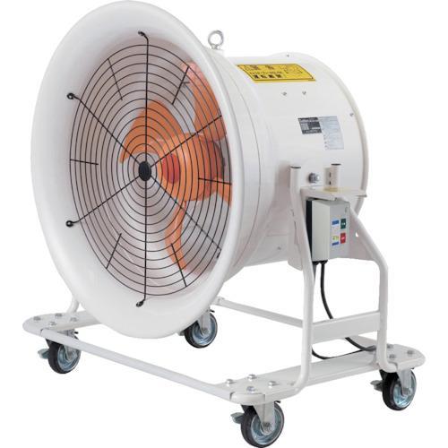 スイデン 送風機 どでかファン ハネ600mm 3相200V 低騒音·省エネタイプ 角度調節可能 4輪キャスター付 SJF-T604A·代引不可·