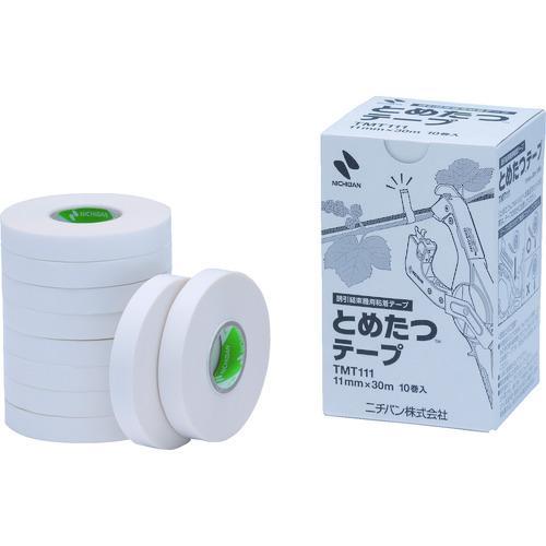 ニチバン 誘引結束機 とめたつ用テープ TMT111 10巻入 舗 低価格化 TMT111≪代引不可≫