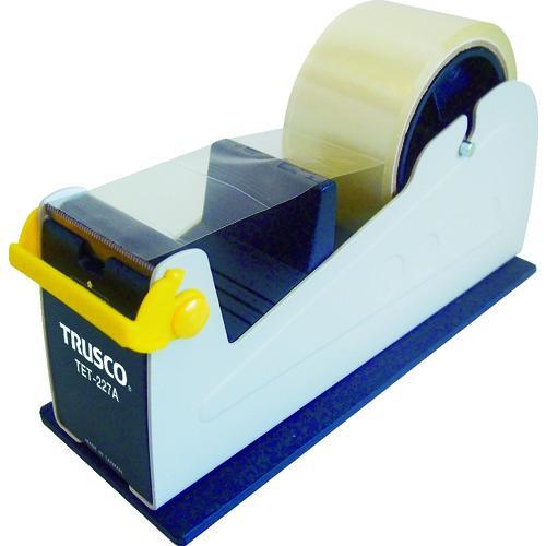 TRUSCO テープカッター スチール製 激安超特価 TET-227A 新色追加 _