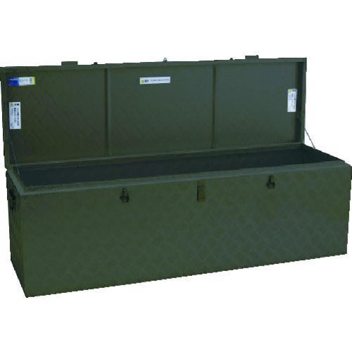 アルインコ   万能アルミ製BOX ODグリーン色 BXA150GR·代引不可·