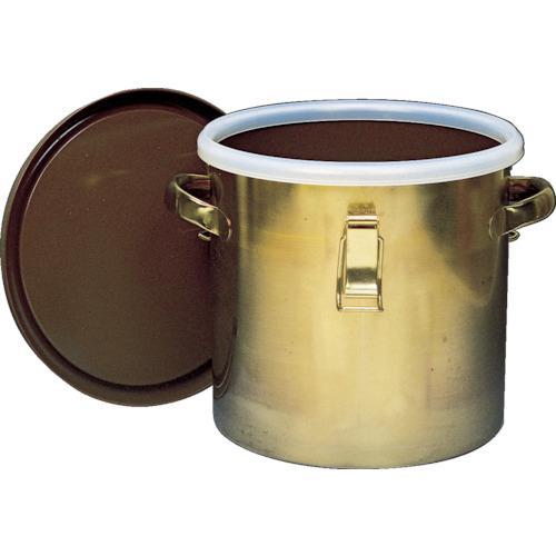 フロンケミカル フッ素樹脂コーティング密閉タンク(金具付) 膜厚約50μ 25L NR0378-005·代引不可·