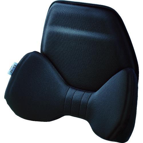 上等 EXGEL お買い得品 ハグドライブバッククッション HUD01-BK≪代引不可≫ ブラック