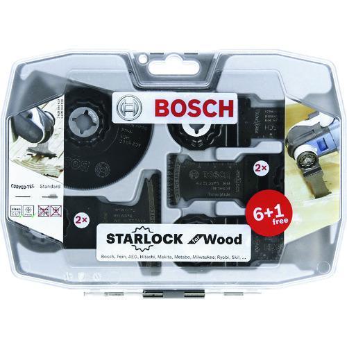 ボッシュ(BOSCH) カットソー・マルチツール用売れ筋セット 木材専科 (スターロック) 2608664623|kouguya
