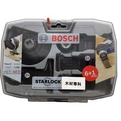 ボッシュ(BOSCH) カットソー・マルチツール用売れ筋セット 木材専科 (スターロック) 2608664623|kouguya|02