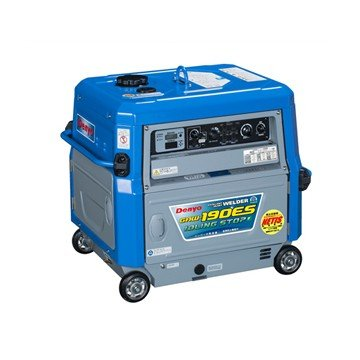 【ポイント15倍】 【直送品】 Denyo (デンヨー) ガソリンエンジン溶接機 GAW-190ES2 【大型】