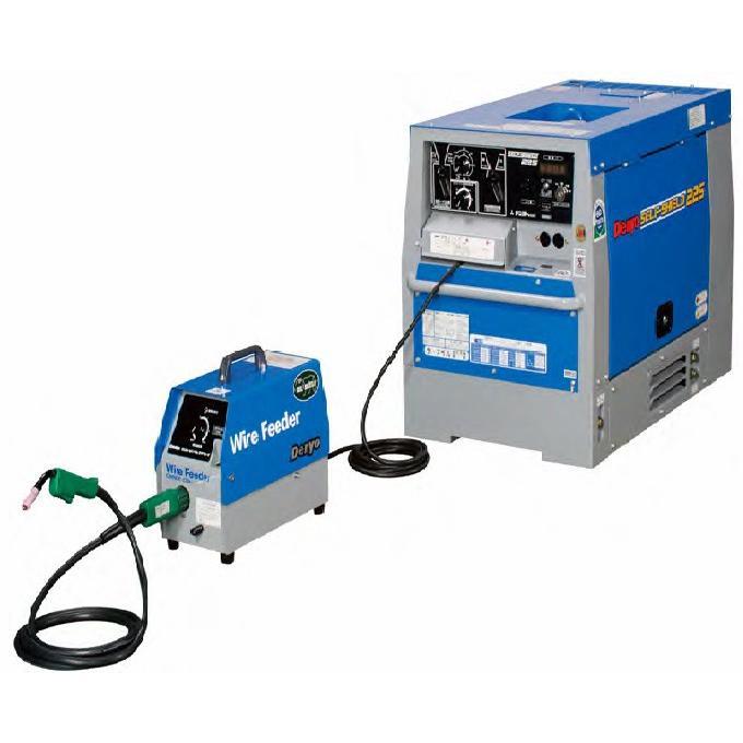 【ポイント15倍】 【直送品】 Denyo (デンヨー) セルフシールド・炭酸ガス溶接機 SDW-225LSK 超低騒音型 【大型】