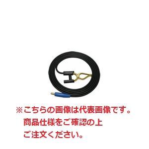 【直送品】 マイト工業 アースクリップ・ジョイントオス付キャプタイヤ 20m CTJA-2220 (22mm2X20m)【法人向け、個人宅配送不可】