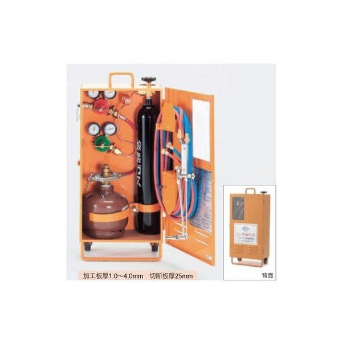 【直送品】 TASCO (タスコ) 溶接溶断セット(アセチレン・サンソ) TA370C