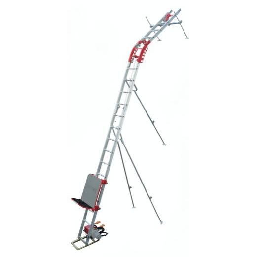 【P15倍】 【直送品】 ユニパー スーパータワーR UP106R-H-2F レールセット 2階用 (※ウインチ無し) (106-00-005) 標準セット 《荷揚げ機》 【大型】