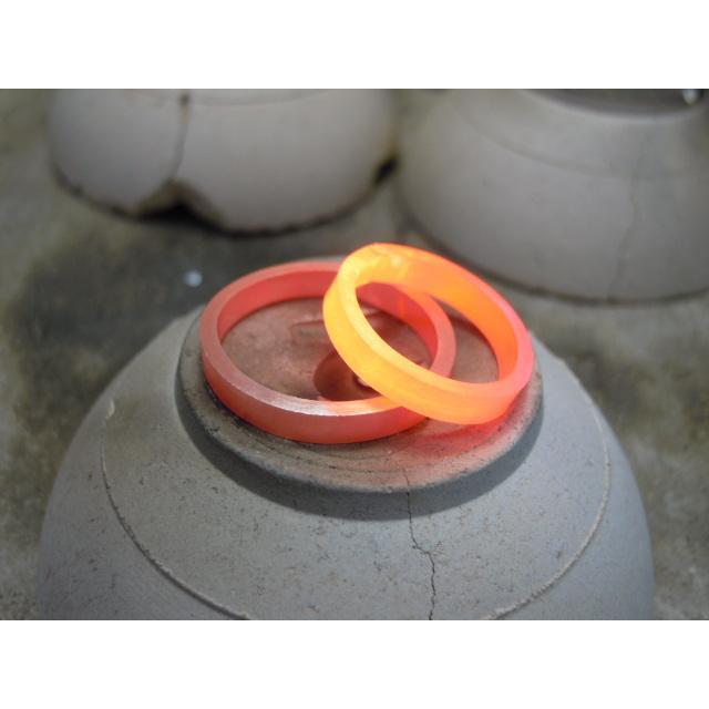 プラチナ 結婚指輪【本物の鍛造】ひねったツイストのラインが美しい曲線美!指輪の三角フォルムも可愛い!|kouki|17