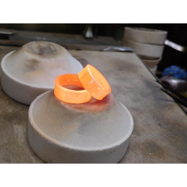 プラチナ 結婚指輪【本物の鍛造】超幅広&超極太の艶消し平打ちリングが凄い!ダイヤを散りばめて槌目で仕上げる!|kouki|18