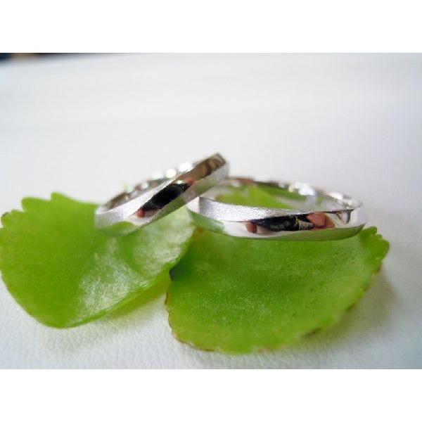 プラチナ 結婚指輪【本物の鍛造】メビウスのラインが繋がるLOVEデザイン!永遠に愛と絆が繋がります!|kouki|02