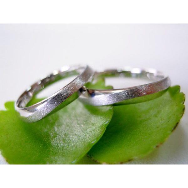 プラチナ 結婚指輪【本物の鍛造】メビウスのラインが繋がるLOVEデザイン!永遠に愛と絆が繋がります!|kouki|03
