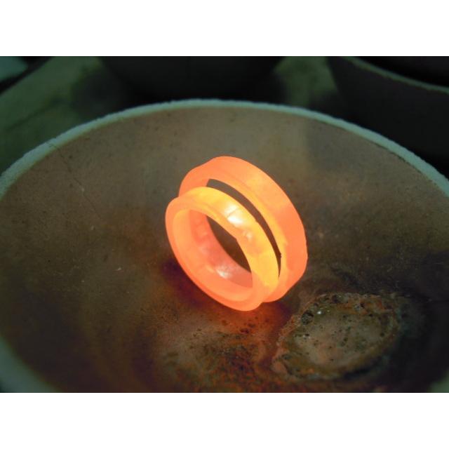 プラチナ 結婚指輪【本物の鍛造】指輪の側面にミル打ち!女性用は鏡面のハーフエタニティリング&男性用は鏡面の平打ちリング kouki 15