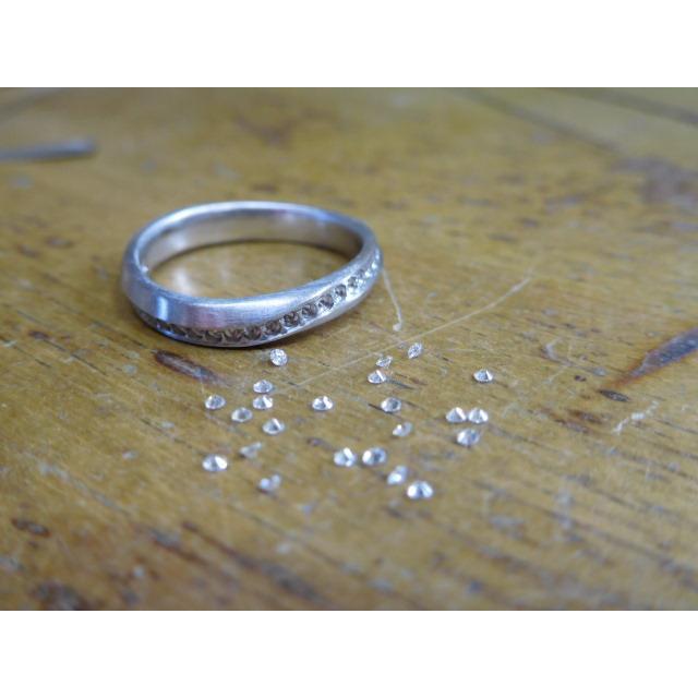 プラチナ 結婚指輪【本物の鍛造】LOVEが繋がるメビウス! 女性は美しいメビウスのエタニティ|kouki|19