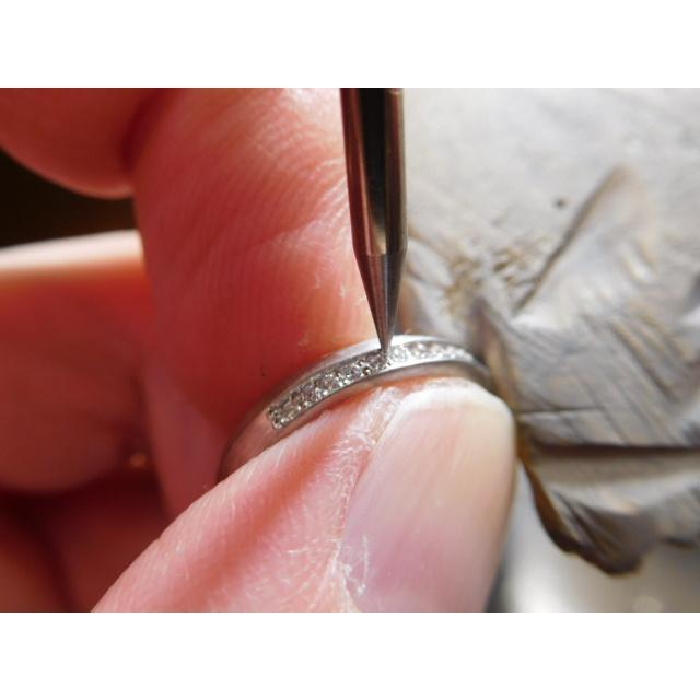 プラチナ 結婚指輪【本物の鍛造】LOVEが繋がるメビウス! 女性は美しいメビウスのエタニティ|kouki|20