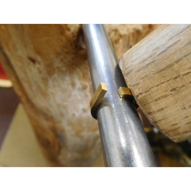 純金 結婚指輪【本物の鍛造】純金の荒仕上げが美しい!シンプルな甲丸&幅3ミリ kouki 13