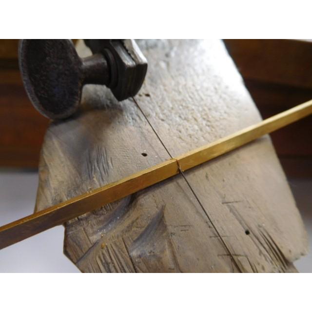 純金 結婚指輪【本物の鍛造】純金の荒仕上げが美しい!シンプルな甲丸&幅3ミリ kouki 15