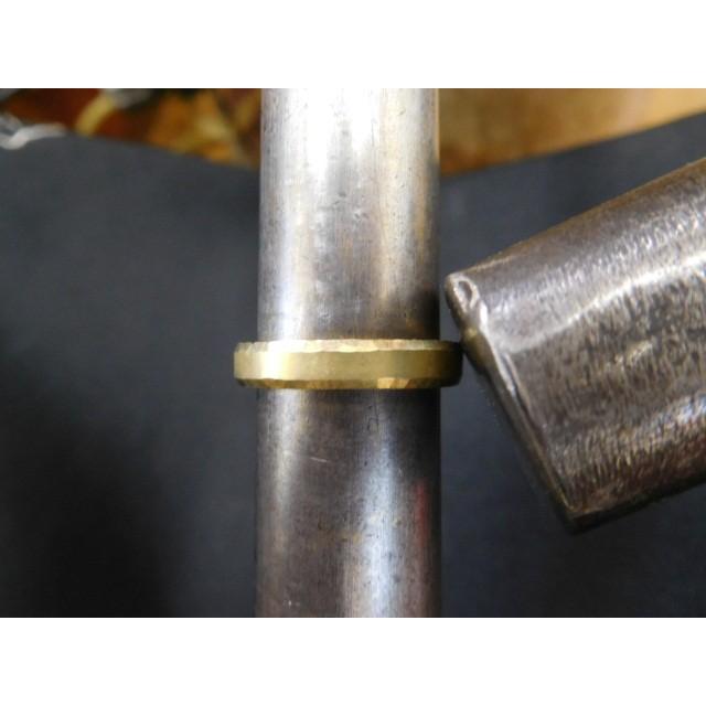 ゴールド 結婚指輪【本物の鍛造】槌目の甲丸&光沢 男性用3.5ミリ幅 女性用3ミリ幅|kouki|16