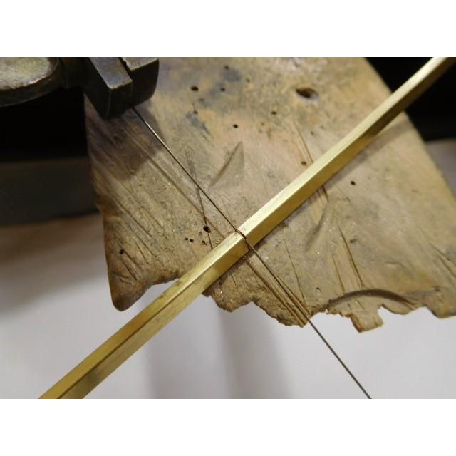ゴールド 結婚指輪【本物の鍛造】槌目の甲丸&光沢 男性用3.5ミリ幅 女性用3ミリ幅|kouki|20