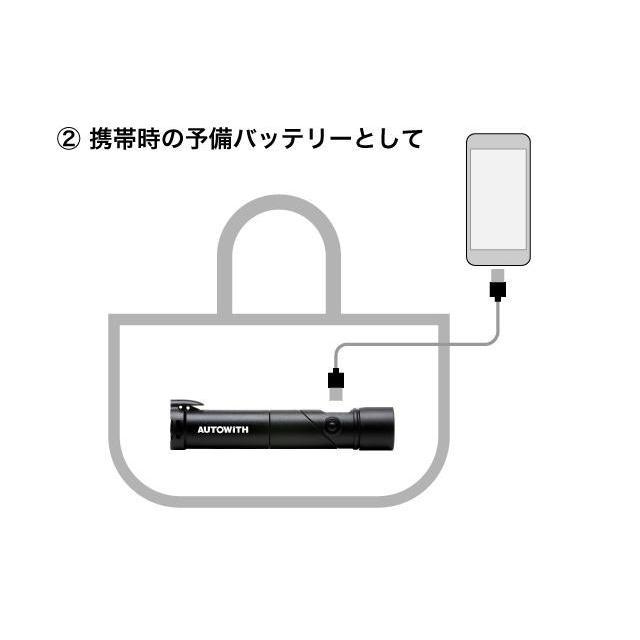災害・緊急時に大活躍のLEDライト!(スマホ充電器としても)1つ持っていれば安心・安全なアイテム!【AUTOWITH・オートウィズ】|koumei-dream|07