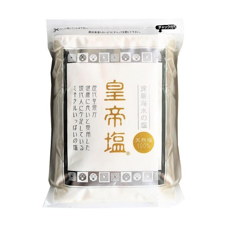 【公式・国内正規代理店】皇帝塩1kg(完全天日塩 無添加天然)|kouteien