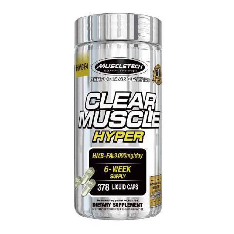 即納最大半額 マッスルテック ふるさと割 クリアマッスルハイパー 378粒 Clear Muscle Hyper HMB-FA