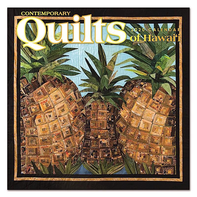 Sale! 2020年 アイランドヘリテイジ社製 ハワイカレンダー Contemporary Quilts of Hawaii  2020年 ハワイアンキルト ハワイアン雑貨 koyomi10