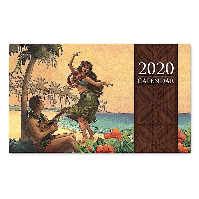 Sale! 送料無料! 2020年ハワイカレンダー(ミニサイズ)ハワイアンダイアリー/スケジュール帳/マンスリーカレンダー Sunset Rendezvous サンセット・ランデブー koyomi10