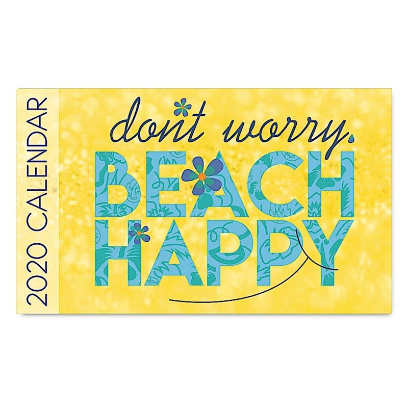 2020年ハワイカレンダー(ミニサイズ)ハワイアンダイアリー/スケジュール帳/マンスリーカレンダー Beach Happy ビーチ・ハッピー koyomi10