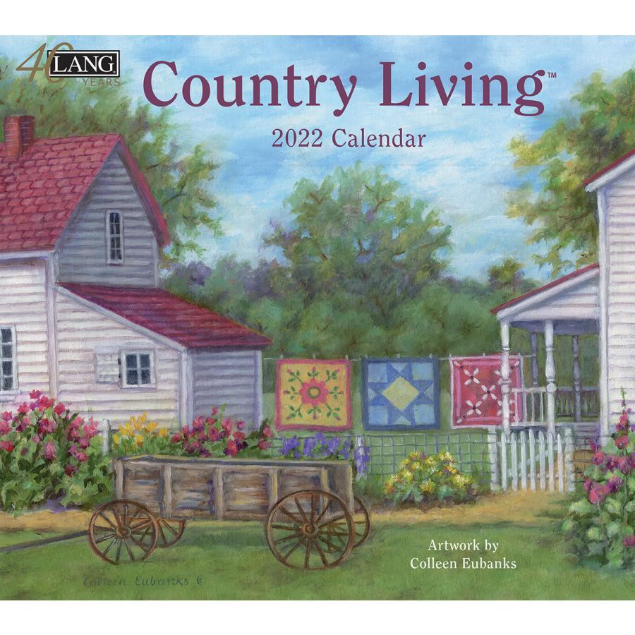 送料無料!2021年 ラング社カレンダー Country Living  カントリー・リビング Colleen Eubanks koyomi10