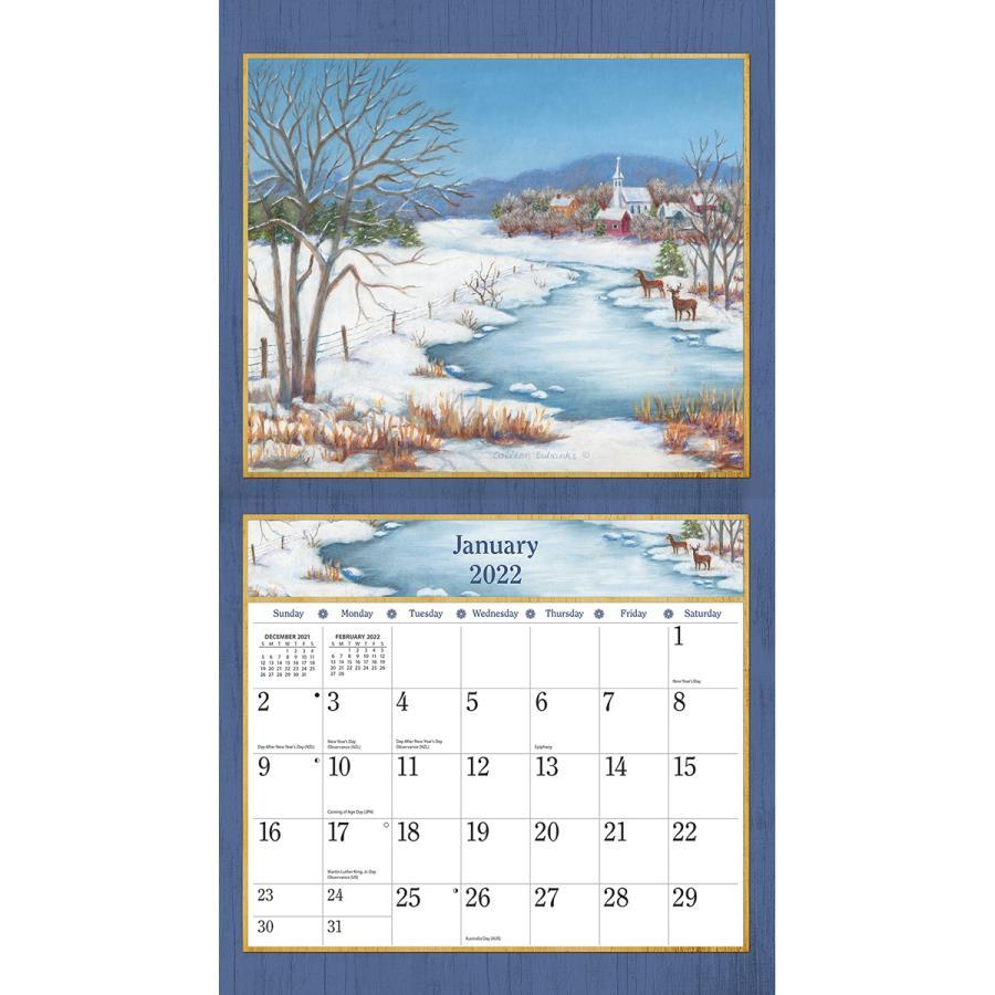 送料無料!2021年 ラング社カレンダー Country Living  カントリー・リビング Colleen Eubanks koyomi10 03