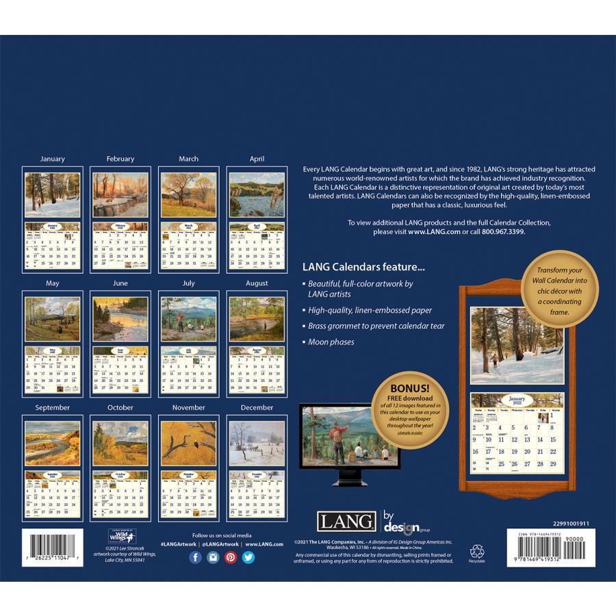 送料無料!2021年 ラング社カレンダー(Lang) Four Seasons   フォー・シーズン Lee Stroncek|koyomi10|02
