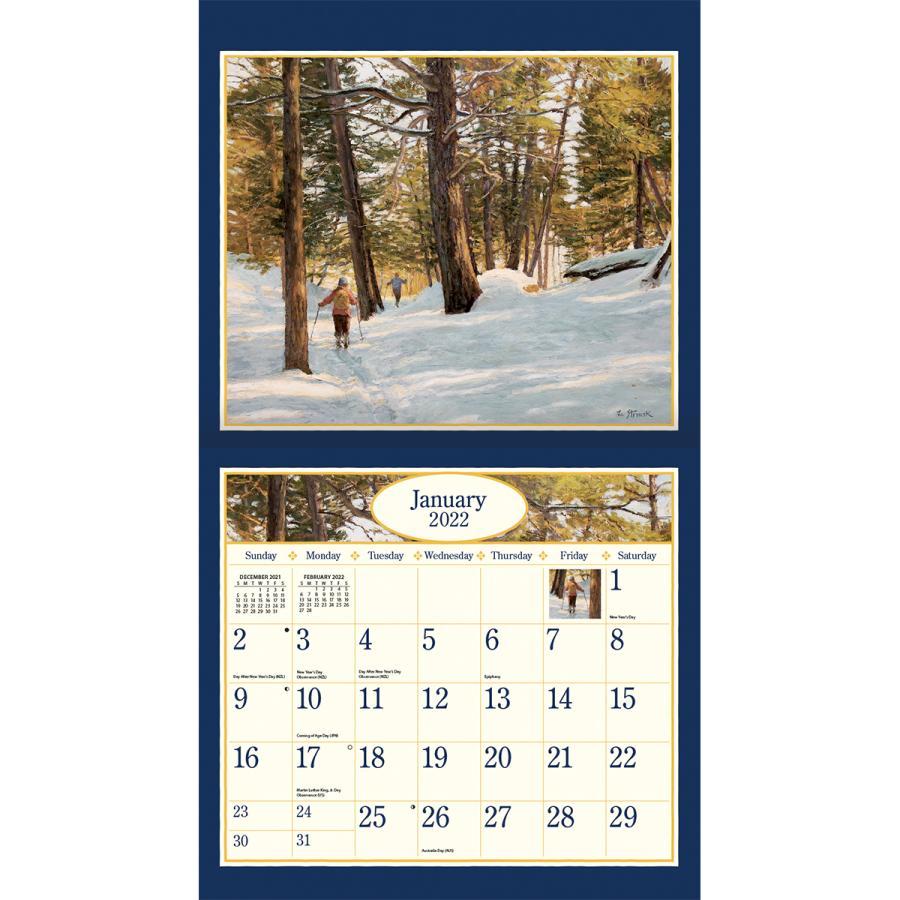 送料無料!2021年 ラング社カレンダー(Lang) Four Seasons   フォー・シーズン Lee Stroncek|koyomi10|03