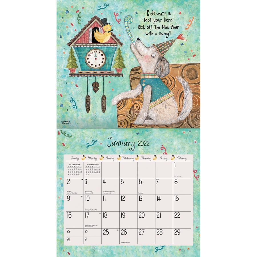 送料無料!2021年 ラング社カレンダー(Lang) Favorite Things  フェイバレイト・シングス Wendy Bentley koyomi10 03
