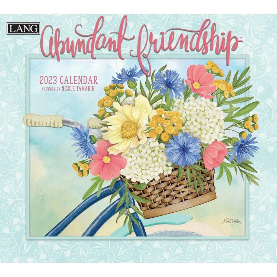 送料無料!2021年 ラング社カレンダー Abundant Friendship  アバンダント・フレンドシップ|koyomi10