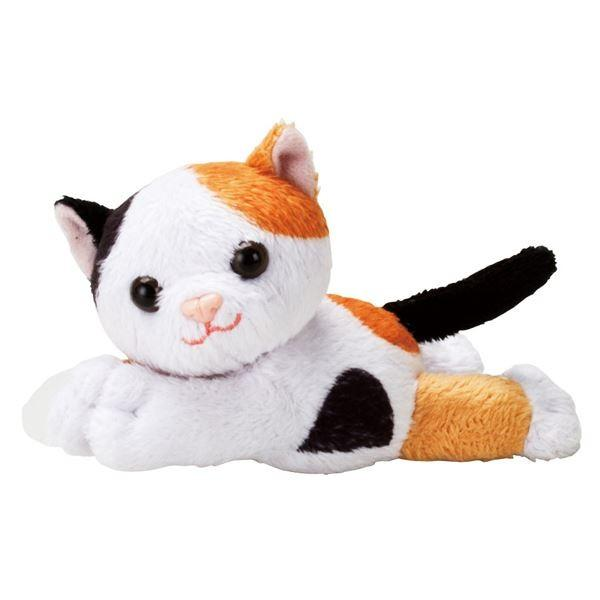 本物保証!  おでかけマスコット OM-10MC〔×3セット〕 (まとめ)マキテック 杖小物 (2)三毛猫-介護用品