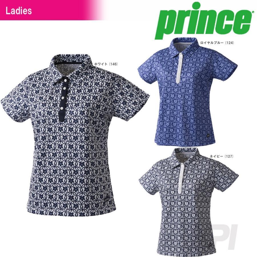 テニスウェア レディース プリンス Prince ゲームシャツ WL7153 2017FW 2017新製品 [ポスト投函便対応]