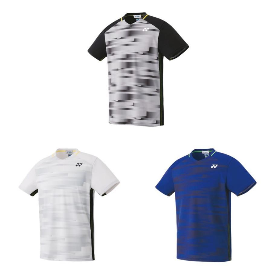 365日出荷 ヨネックス YONEX テニスウェア ユニセックス ゲームシャツ 2019SS 春の新作続々 4年保証 冷感 10301 フィットスタイル 夏用 即日出荷