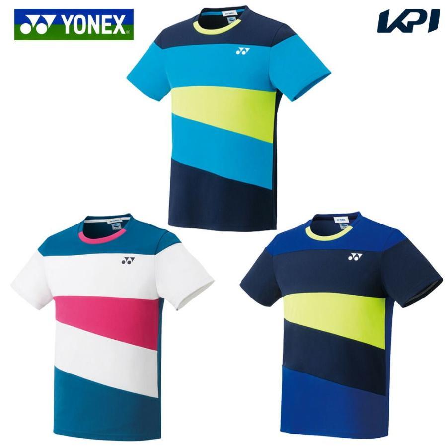 ヨネックス YONEX ランキング総合1位 バドミントンウェア ユニセックス ゲームシャツ お中元 夏用 フィットスタイル 2019SS 10314 冷感