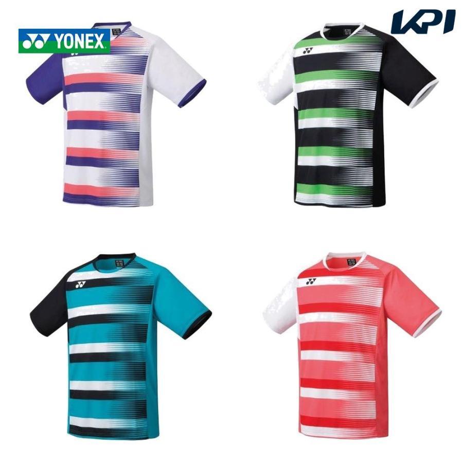 ヨネックス YONEX バドミントンウェア メンズ フィットスタイル メンズゲームシャツ 2021SS 10394 国内正規品 即納