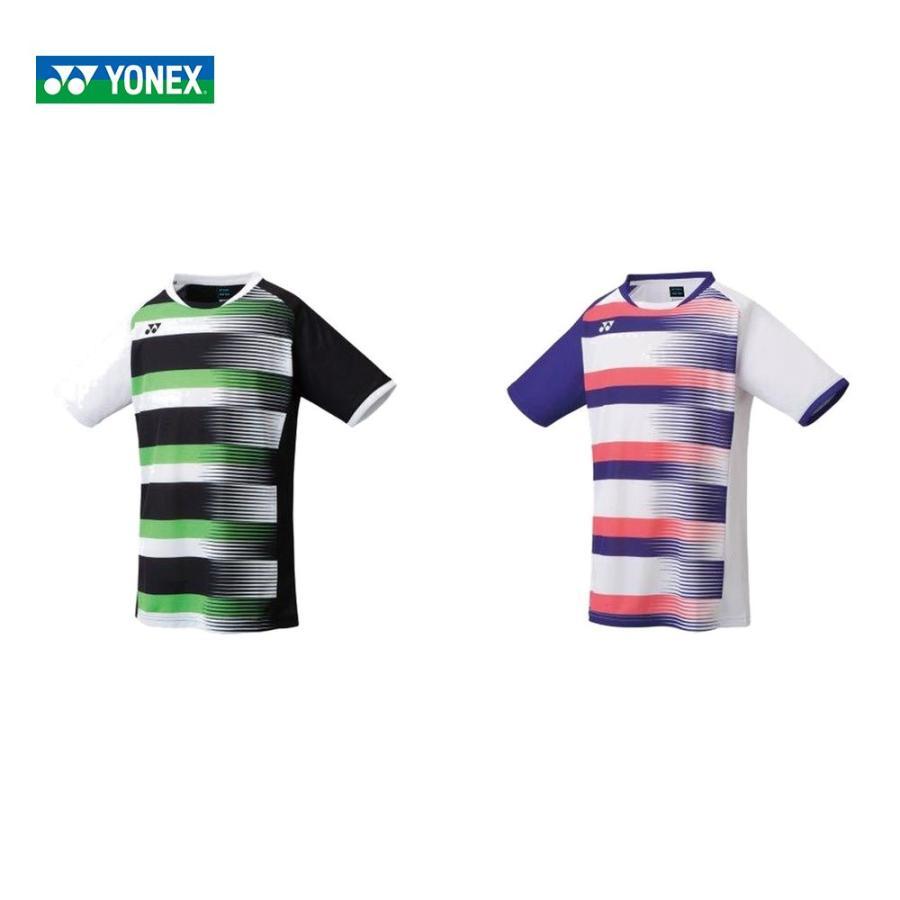 ヨネックス YONEX 世界の人気ブランド バドミントンウェア ジュニア 10394J ジュニアゲームシャツ 2021SS 今だけ限定15%OFFクーポン発行中