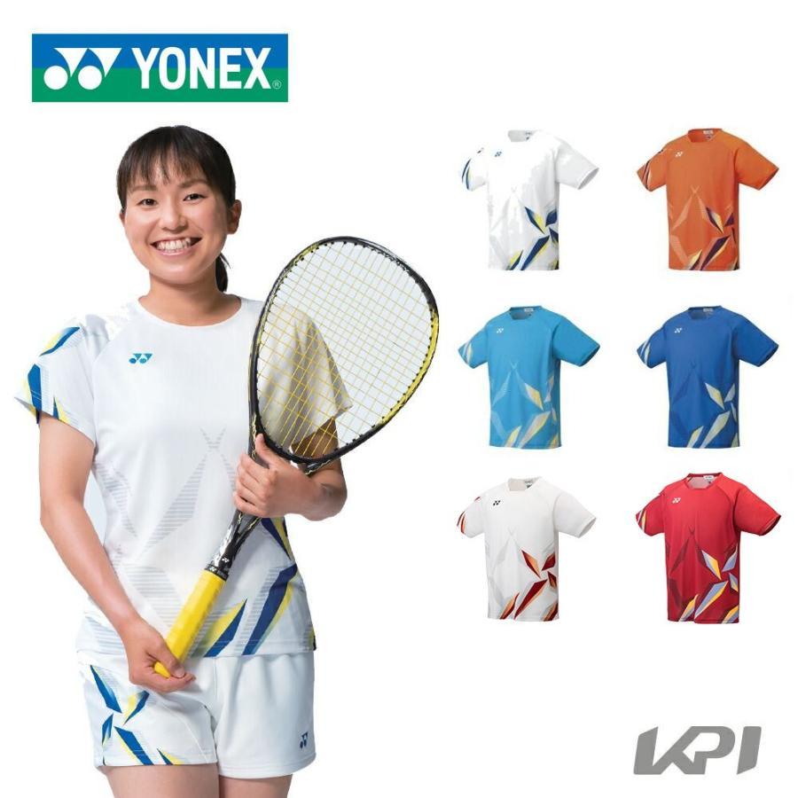ヨネックス YONEX ソフトテニスウェア 大特価!! メンズ 10407 2021SS フィットスタイル 年間定番 メンズゲームシャツ