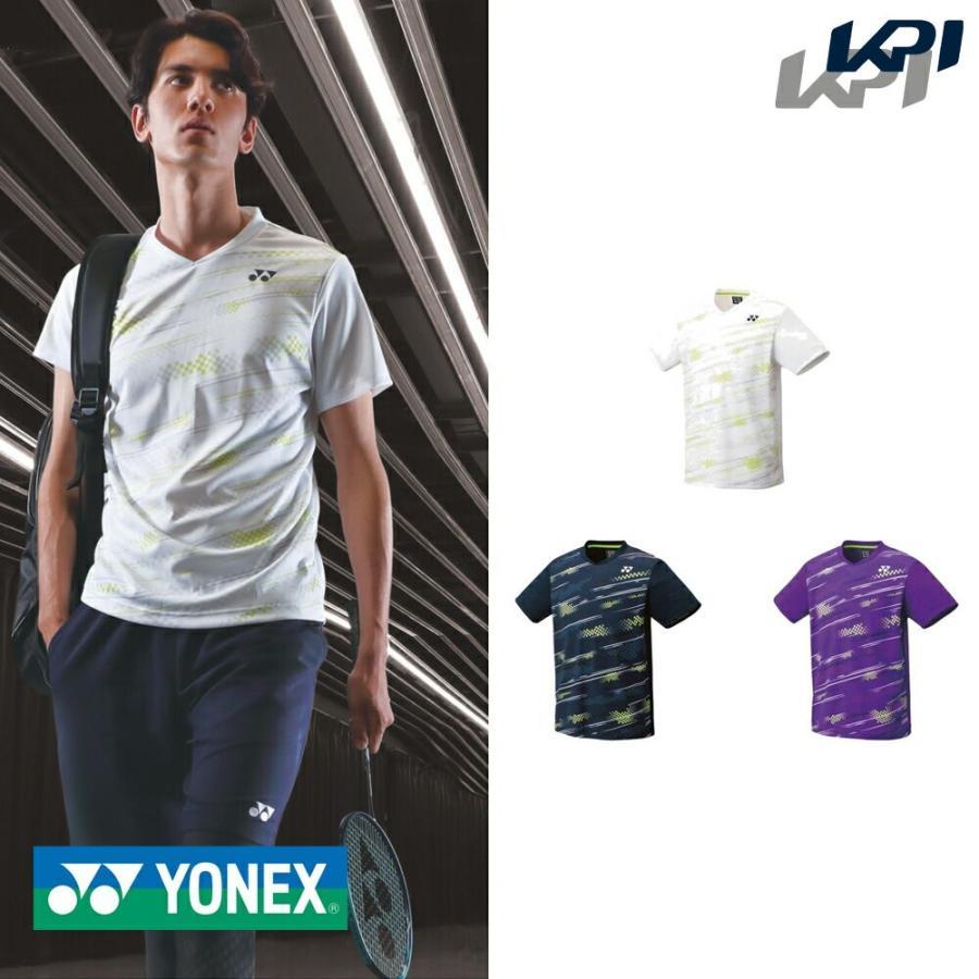 ヨネックス YONEX テニスウェア 信用 高級 メンズ ユニゲームシャツ 10428 2020FW フィットスタイル